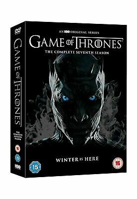 Game of Thrones Season 7 DVD Box Set Conquest & Rebellion 2017 Brand New Free PP