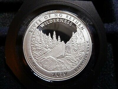 2019-S Atb River Of No Return Quarter From Silver Proof Set C-6-19