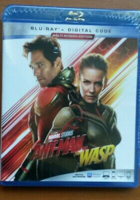 ANT-MAN AND THE WASP BR+Digital Code   😀 NS   (see Detail)  MARVEL STUDIOS