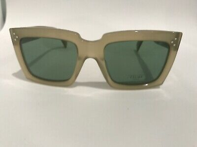 33a23630e97 Celine CL 41800 S 8UDDJ Rectangular Opal Sunglasses Made in Italy Authentic
