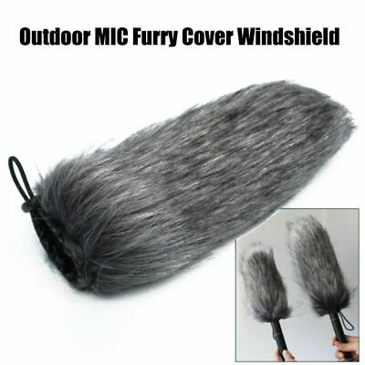 Microphone Outdoor Furry Cover Windscreen Windshield For RODE VIDEOMIC GO Muff