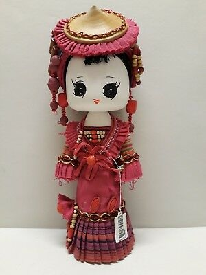 Chinese Minority Cartoon Dai Dolls - Large Size - Not a Toy - For Display Only