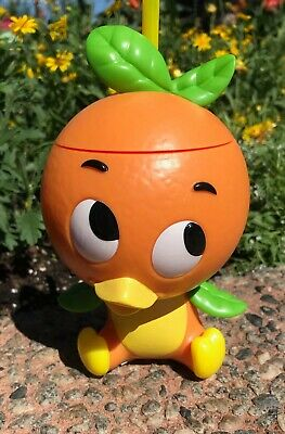 Disney Parks Epcot 2019 Flower & Garden Festival Orange Bird Sipper Cup