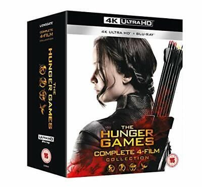 The Hunger Games Complete 1-4 UHD [Blu-ray] [2018]