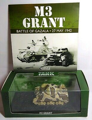 Atlas Ultimate Tank Collection 1:76 Scale M3 Grant - 4660 110 - New