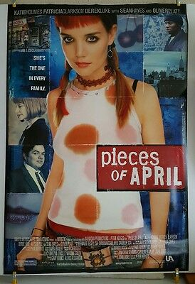 PIECES OF APRIL Movie Theater Poster 2003 US Original DS 27x40 Katie Holmes