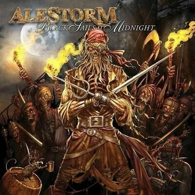 Black Sails at Midnight [Limited Edtion] ALESTORM CD+ DVD