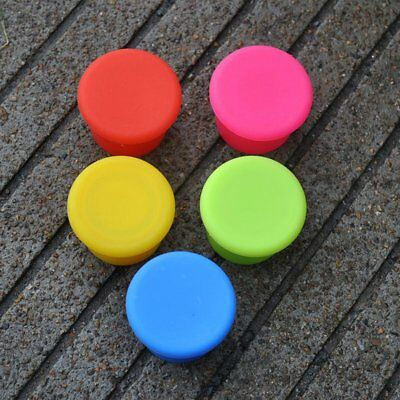 Candy Color Silicone Bottle Cap Wine Bottle Stopper Champagne Wine Stopper XE