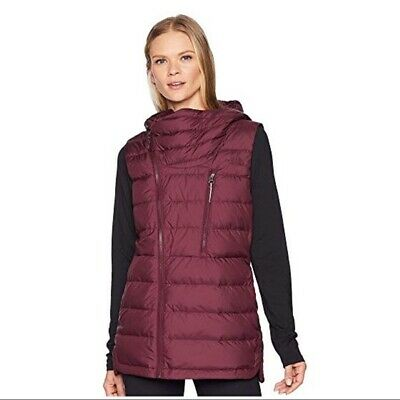 9aa3d9c36587 Authentic North Face Niche Hooded Down Vest Fig Sz S Retail  149