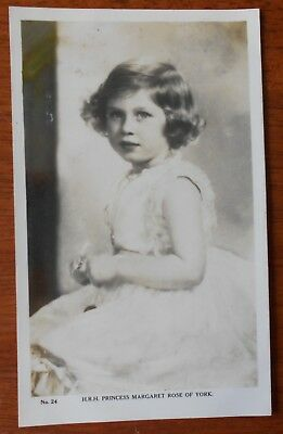 H.R.H. Princess Margaret Rose of York No. 24 Vintage Postcard Australian C1930s