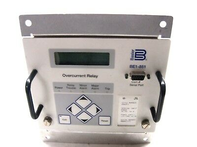 Used Basler Electric Be1-851 H5N2F3 Overcurrent Relay Be1851H5N2F3