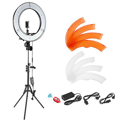 "14"" LED Ring Light 36W 5500K and Light Stand Lighting Kit for Camera Smartphone"