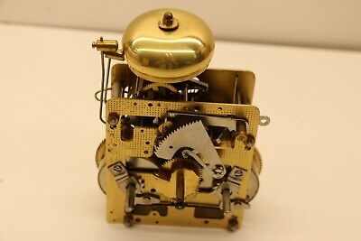 FHS Franz Hermle & Sons German Made 151-080 21cm Mantel Clock Movement 2 Bells