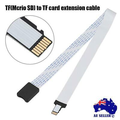 New 48/60cm Micro SD Memory Card Slot to TF Card Extender Cable Extension Linker