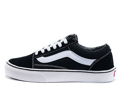 Classic OLD SKOOL Low Top Casual Canvas Sneakers For Mens Womens Shoes