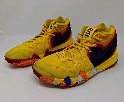 new arrival 5d025 fac44 NIKE KYRIE 4 70s Uncle Drew Decades Pack Yellow Basketball Shoes 13  943806-700