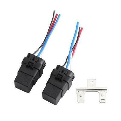 1Set DC 40A 12v 4Pin Automobile Relay Wire Waterproof Integrated Car Auto Socket