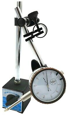 Universal 3D Deluxe Magnetic Base Holder W/ Dial Test Indicator 0.001""