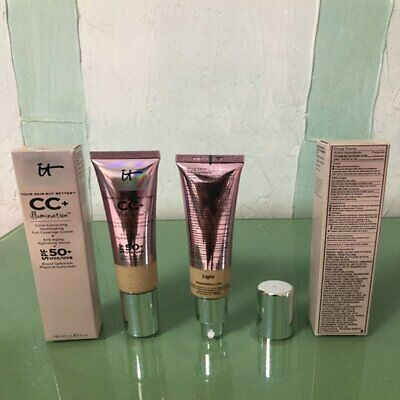 Full Coverage Cream Makeup Concealer Isolation Whitening Makeup CC Cre ID