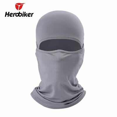 Motorcycle Riding Mask Mesh Cloth Windproof Face Mask Cover Bicycle Breathab AF