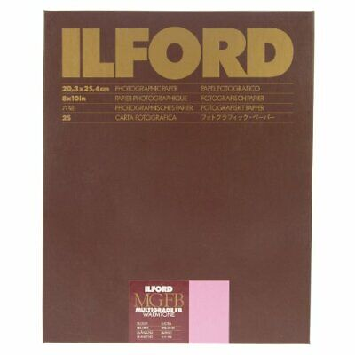 Ilford Multigrade FB Warmtone GLOSS, 8 x 10, 25 sheets