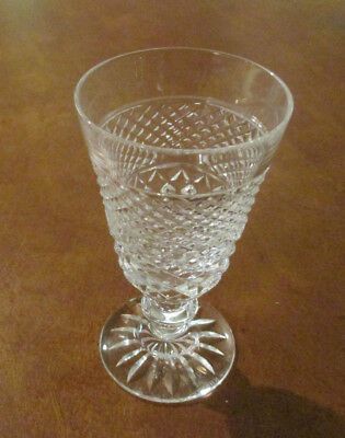 "Set of 4 Shreve's Tyrone Crystal Cordial/Sherry/Liqueur glasses - 4 1/2"" tall"