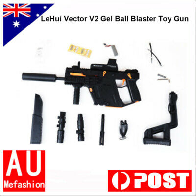 1X BLACK NYLON LH Kriss Vector V2 Gel Ball Water Blaster Toy Gun AU Stock