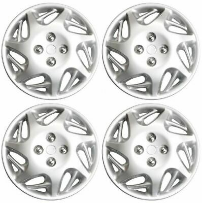 "New Estilo Tornado Set of 4 Wheel Trims / Hub Caps 13"" Covers"