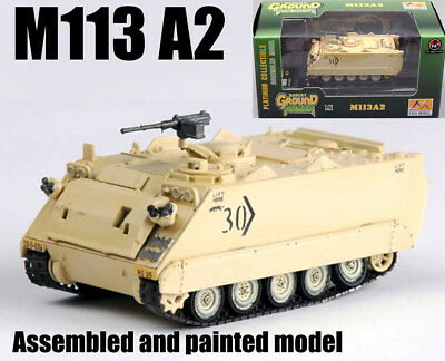 FMC M113 APC Armored Personnel Carrier Army Military Mahogany Wood