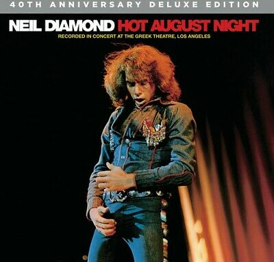 Neil Diamond - Hot August Night (2 Disc, 40th Anniversary Deluxe Edition) CD NEW