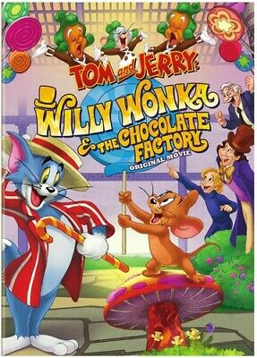 Tom and Jerry: Willy Wonka and the Chocolate Factory DVD NEW