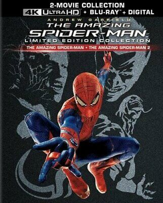 The Amazing Spider-Man 1 / 2 Collection (With Blu-ray) 4K ULTRA HD BLU-RAY NEW