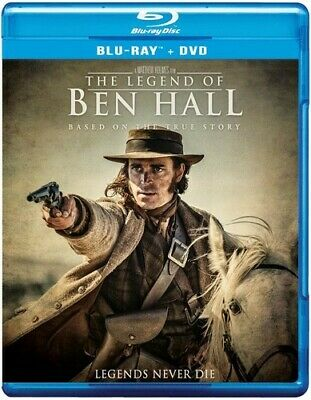 The Legend of Ben Hall (2 Disc, Blu-ray + DVD) BLU-RAY NEW