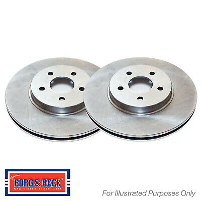 Borg /& Beck BBD4640 Brake Disc Pair Front
