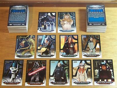 2018 Topps Star Wars Galactic Files complete 200 card base set