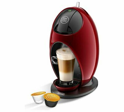 NESCAFE Dolce Gusto Jovia Manual Coffee Machine Removable Water Tank - Red NEW