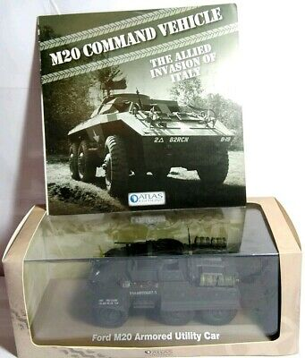 Atlas Collections 1:43 Scale Ford M20 Armoured Utility Car - 6690 006 - New