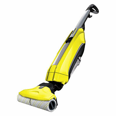 Karcher FC5 Hard Floor Cleaner 2 In 1 Yellow Vacuum Wash Roller Incl. Detergent