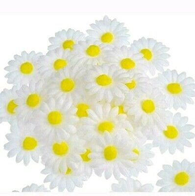 4 PCS Daisies Artificial Flowers Outdoor Daisy Fake Plant Window box Faux GreeG7