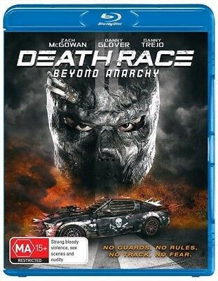 Death Race - Beyond Anarchy (Blu-ray, 2018) NEW