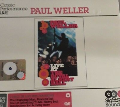 Paul Weller- Live At The Royal Albert Hall*cd/dvd 2Pz New Sealed Nuovo Sigillato