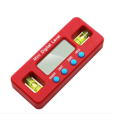 Measure Inclinometer Mini Magnetics Tool Digital Protractor Angle Finder