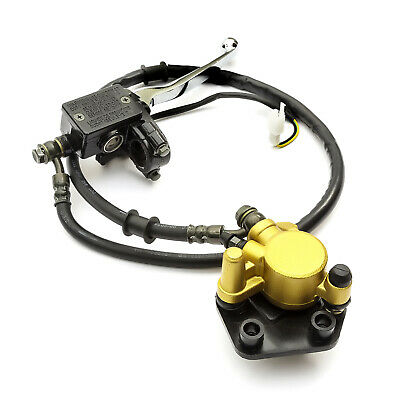 Front Brake Calliper & Hydraulic Master Cylinder Kit For Chinese 50cc Scooters