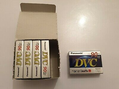 LOTE 5 mini Panasonic DVC  Mini DV AY-DVM60FF cintas de Video 60/90 Min NEW