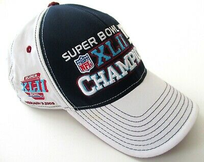 88f2dd3b75a New York Giants Reebok Authentic Sideline 2008 SuperBowl XLII Cap Hat NFL  DEFECT