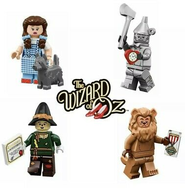 NEW SEALED LEGO Movie 2 Minifigure Series The Wizard Of Oz Complete Set -  All 4!