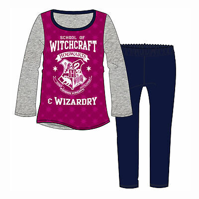Girls Harry Potter Pyjamas PJs Nightwear School of Witchcraft Hogwarts 3 - 10yrs