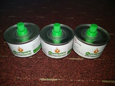 3 x  Chafing Fuel 6 hours Prepara Wick Chafing Catering BBQ Buffet Camping