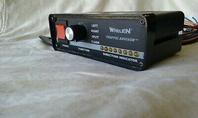 Whelen Traffic Advisor  Control Head 12V TACTLD1 With Wire Harness