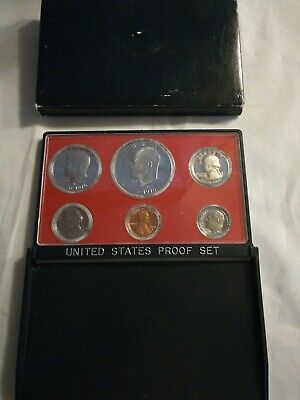 1977-S Proof Set United States US Mint Original Government Packaging Box Ike $
